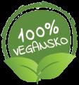 100% Vegansko
