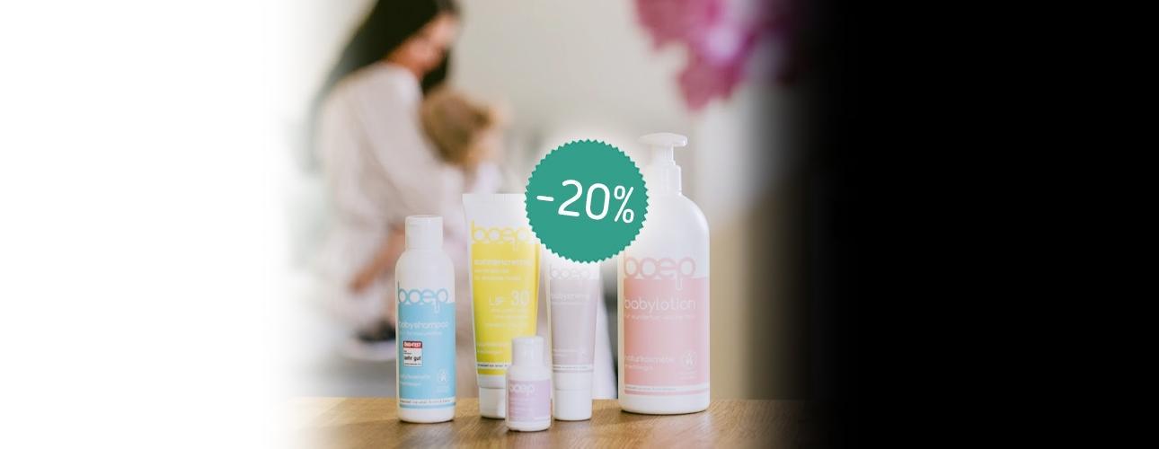 *-20%*BOEPbaby kozmetika