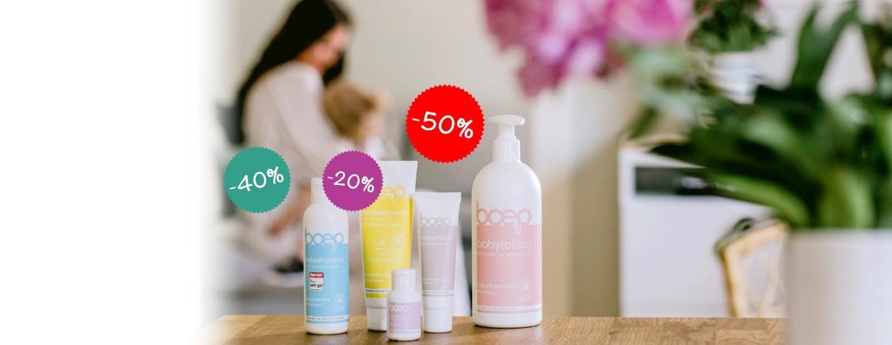 AKCIJA do *-50%*na BOEPbaby kozmetiko