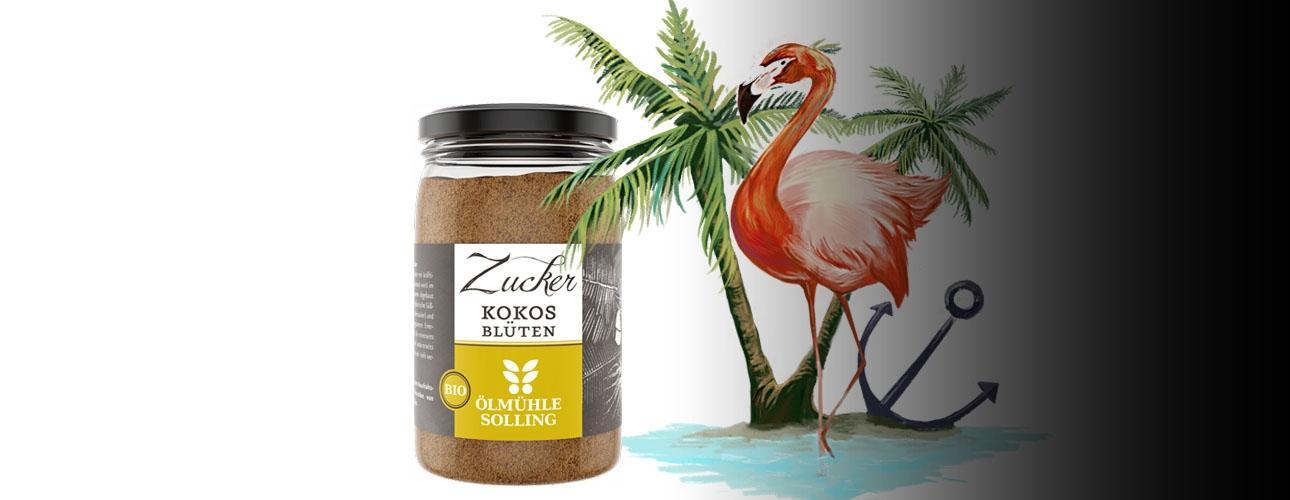 Kokosov sladkor iz ekološke pridelave