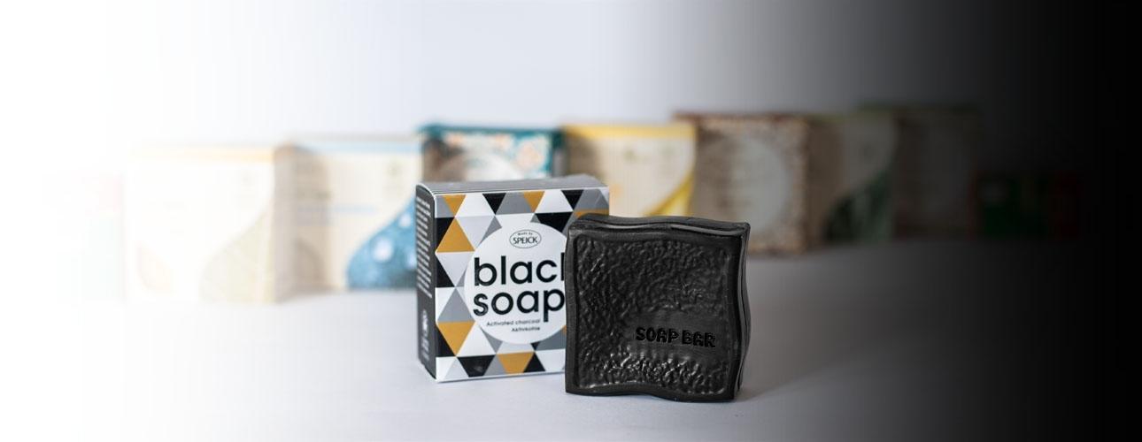 BLACK SOAPčrno milo z aktivnim ogljem SPEICK