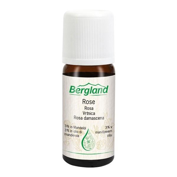 Eterično olje VRTNICA (Rosa demascena) Bergland 10ml