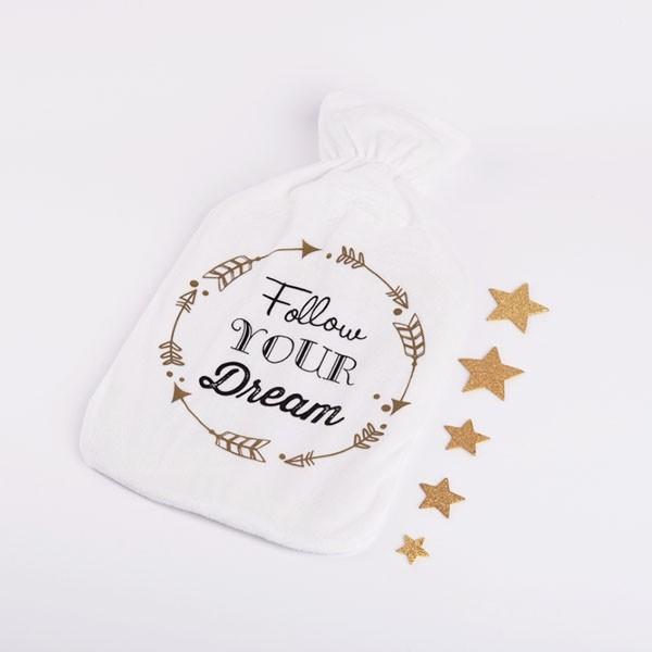Termofor s pliš prevleko Follow Your Dream 2l